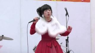 世界一の口笛奏者(水戸市出身の高校2年生) 加藤万里奈「きよしこの夜」☆Xmasイブイブまちなかステージ2015
