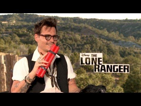Johnny Depp, Armie Hammer, William Fichtner, Daniele Rizzo in LONE RANGER - TONTO + PRONTO (English)