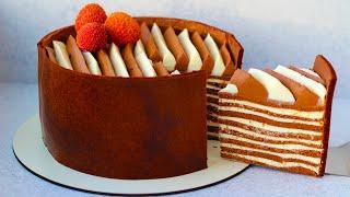 НИЗКОКАЛОРИЙНЫЙ пп торт БЕЛАЯ ПОЛОСА! ПП рецепты БЕЗ САХАРА и БЕЗ ГЛЮТЕНА!