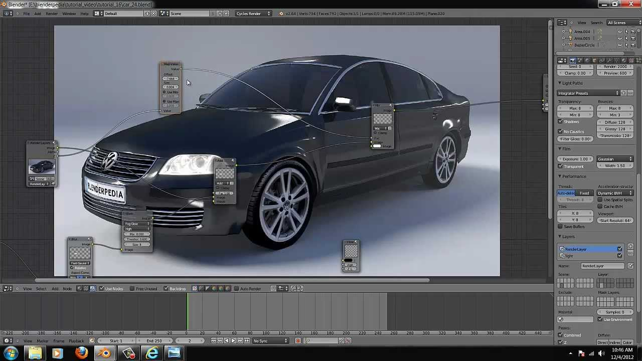 Model Sports Car Blender Tutorial