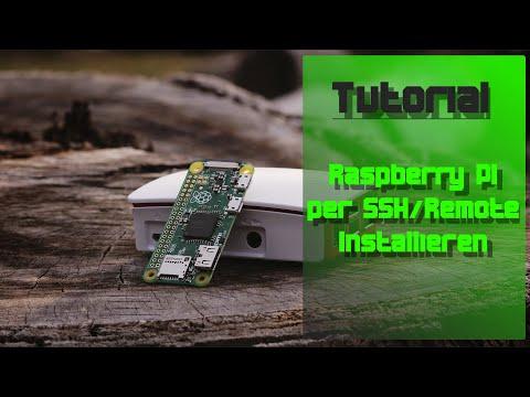 Raspberry Pi einrichten ohne Monitor  SSH & Remote-Desktop