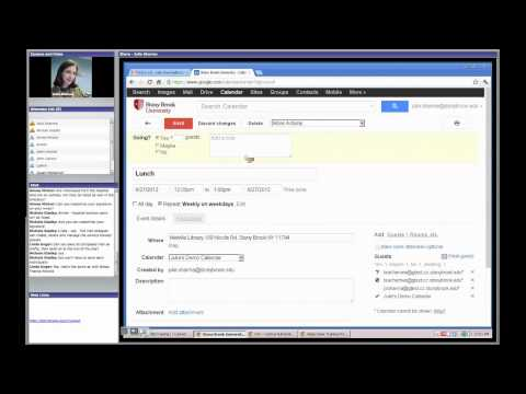 Google Mail and Calendar Training