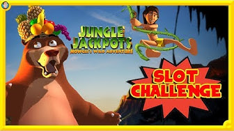 SLOT CHALLENGE !!! Playing for EVERY BONUS on Jungle Jackpots !!!