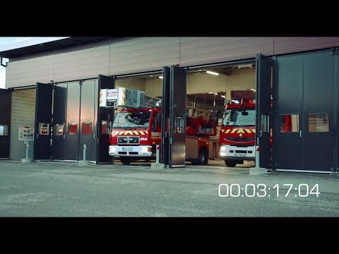 Docu-fiction Sapeurs-Pompiers volontaires: 8 minutes