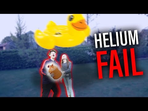 XXL Fliegende ENTE (HELIUM) **fail!**