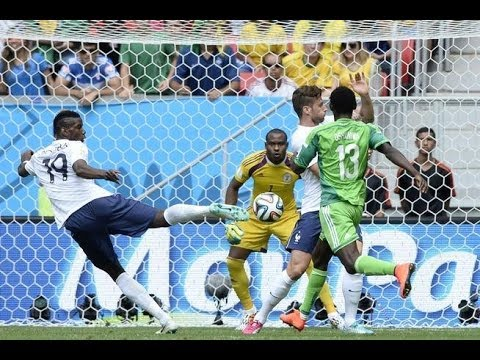 France vs Nigeria 2014 FIFA World Cup Round of 16 Results