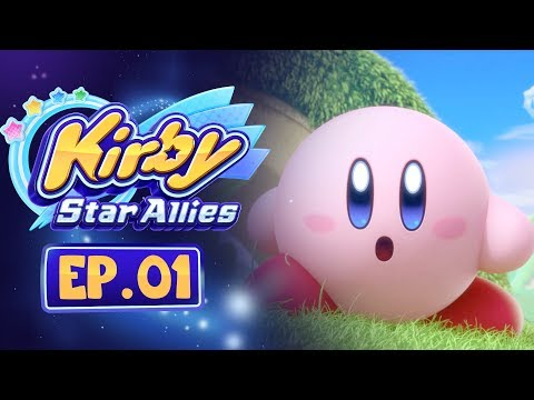 Kirby Star Allies Nintendo Switch Gameplay Walkthrough Playthrough Let's Play (Full Game) - Part 1