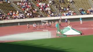 2016年度 兵庫ユース 2年男子1500m決勝