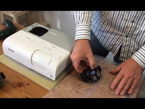 Come sostituire la lampada per proiettore epson emp youtube