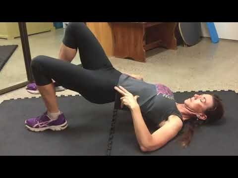 How To: 1 Leg Supine Hip Extension