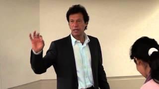 Imran Khan's comments on Pakistan's anti-Ahmadiyya Laws
