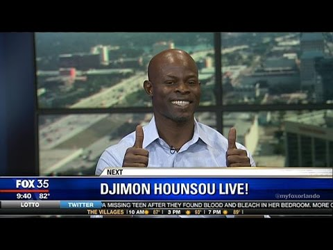 Interview with Djimon Hounsou