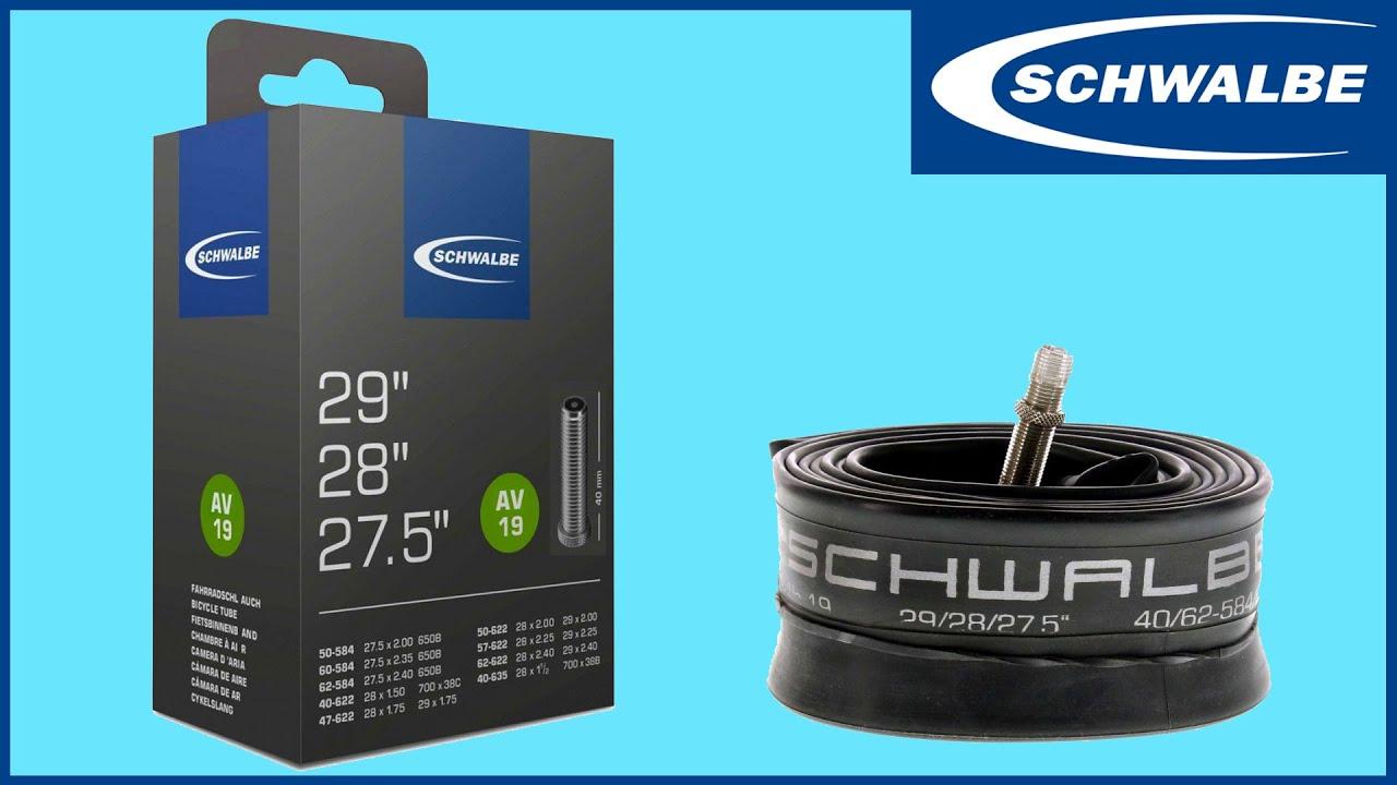 Schwalbe 29 x 1.5-2.3 AV19 40 mm Schrader Valve Interne Tube