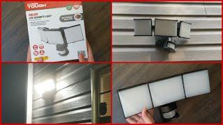 HyperTough Solar LED Security …
