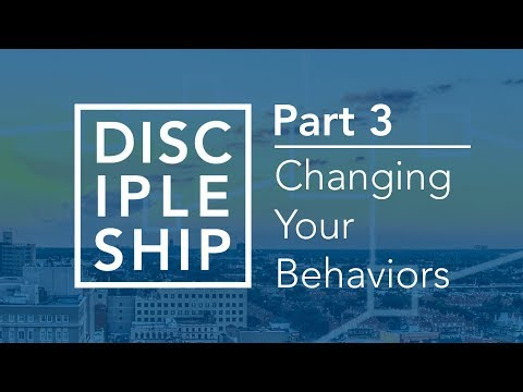 Discipleship: Changing Your Behaviours - Bruce Downes The Catholic Guy