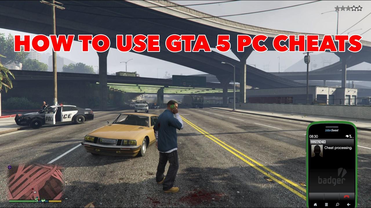 ALL <b>GTA 5 CHEATS</b> &amp; <b>CODES</b> - <b>PC</b> - YouTube