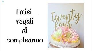 💜I MIEI REGALI DI COMPLEANNO!!!!!!! || IlmondodiGiò 94♡