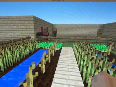 Mission San Diego De Alcala in Minecraft, by StephenG