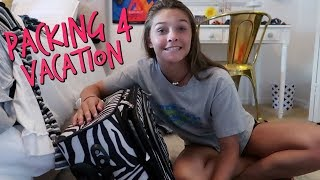 EMMA FRIENDS BIRTHDAY PARTY! PACKING FOR SUMMER VACATION! | EMMA AND ELLIE