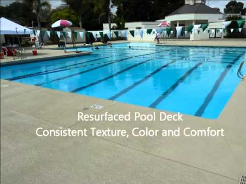 Pool Deck Resurfacing By All American Decorative Concrete
