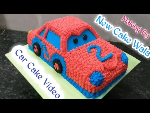 Car Cake How To Make Best Decorations Cake Making By New Cake Wala