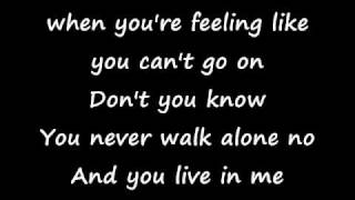 Celine Dion-Stand By Your Side With Lyrics