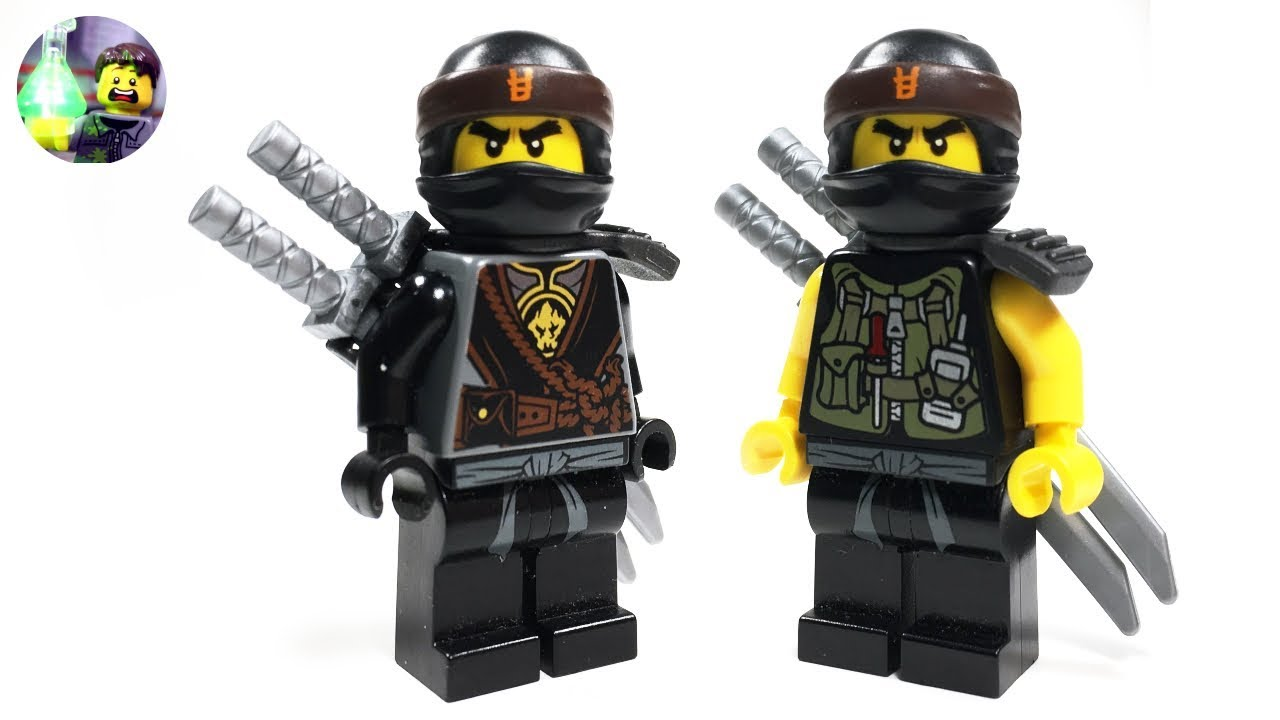 Lego Ninjago Custom Cole Minifigure From Hunted Youtube