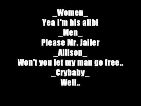 Cry Baby  Please Mr Jailer Lyrics