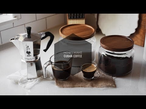 How I Make Cuban Coffee StoveTop Espresso Maker