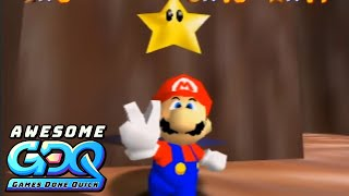Super Mario 64 Randomizer by Puncayshun, 360Chrism and Simply in 1:04:36 - AGDQ2020