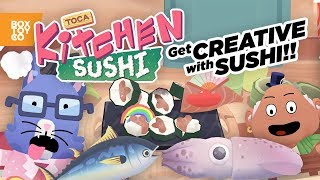 Get Creative with Food!?! Toca Kitchen Sushi