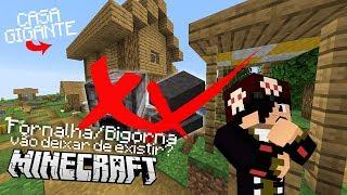 FORNALHA/BIGORNA DE MINECRAFT VAI DEIXAR DE EXISTIR?! NOVA VILA DE NPC! | NOVO Minecraft (1.14)