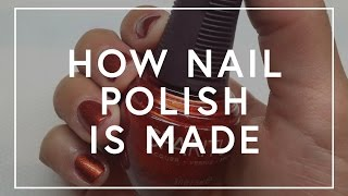 How Nail Polish Is Made | The Zoe Report by Rachel Zoe