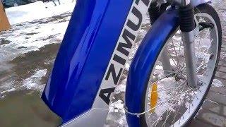 Ремонт электро велосипеда Azimut. Замена контроллера на мотор-колесо.(Замена сгоревшего контролера на электро велосипеде Азимут. Новый контроллер заказывался с Китая. На видео..., 2016-01-18T07:18:03.000Z)