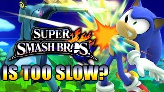 IS SMASH 4 TOO SLOW?! (Smash Wii U Comic Con Impressions)