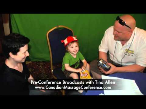 Children with Cancer Pre-Conference Broadcasts with Tina Allen - Canadian Massage Conference