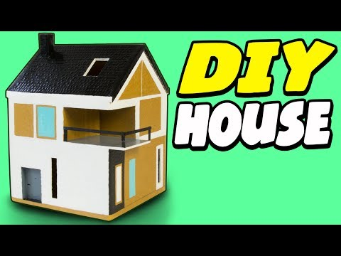 diy-cardboard-house---scandinavian-|-craft-ideas-for-kids-on-box-yourself