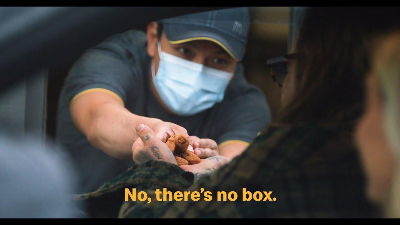 McDonald's UK | No Packaging Drive-Thru | Bin Your Litter