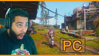 Destiny 2  PC VS. CONSOLE - INSANE COMPARISON on THE FARM (WOW!)