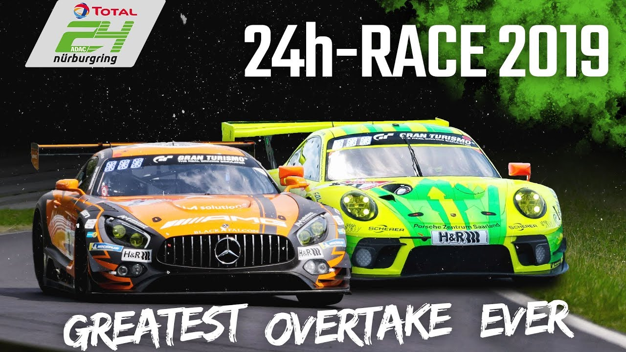 Download Kevin Estre's LEGENDARY pass on the Grass | 24h-Race Nürburgring