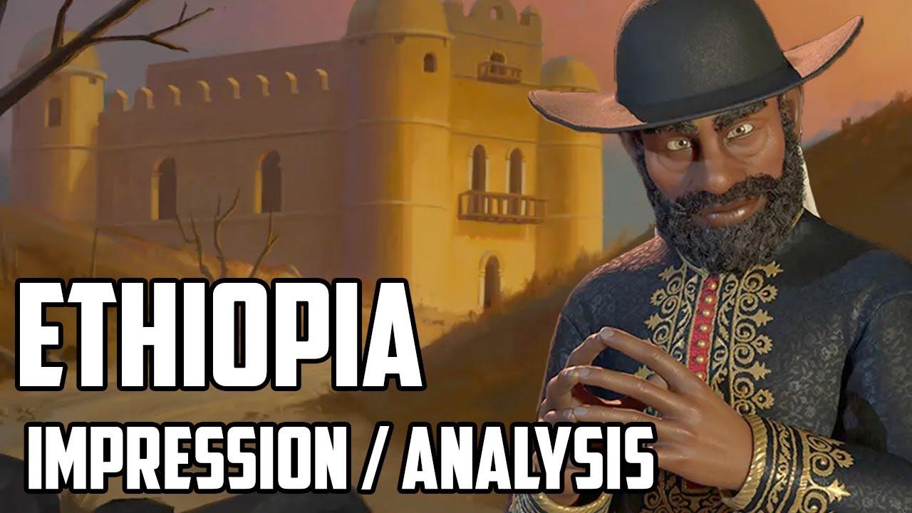 Ethiopia First Impression - Menelik II! - Civ 6 New Frontier Pass content reveal
