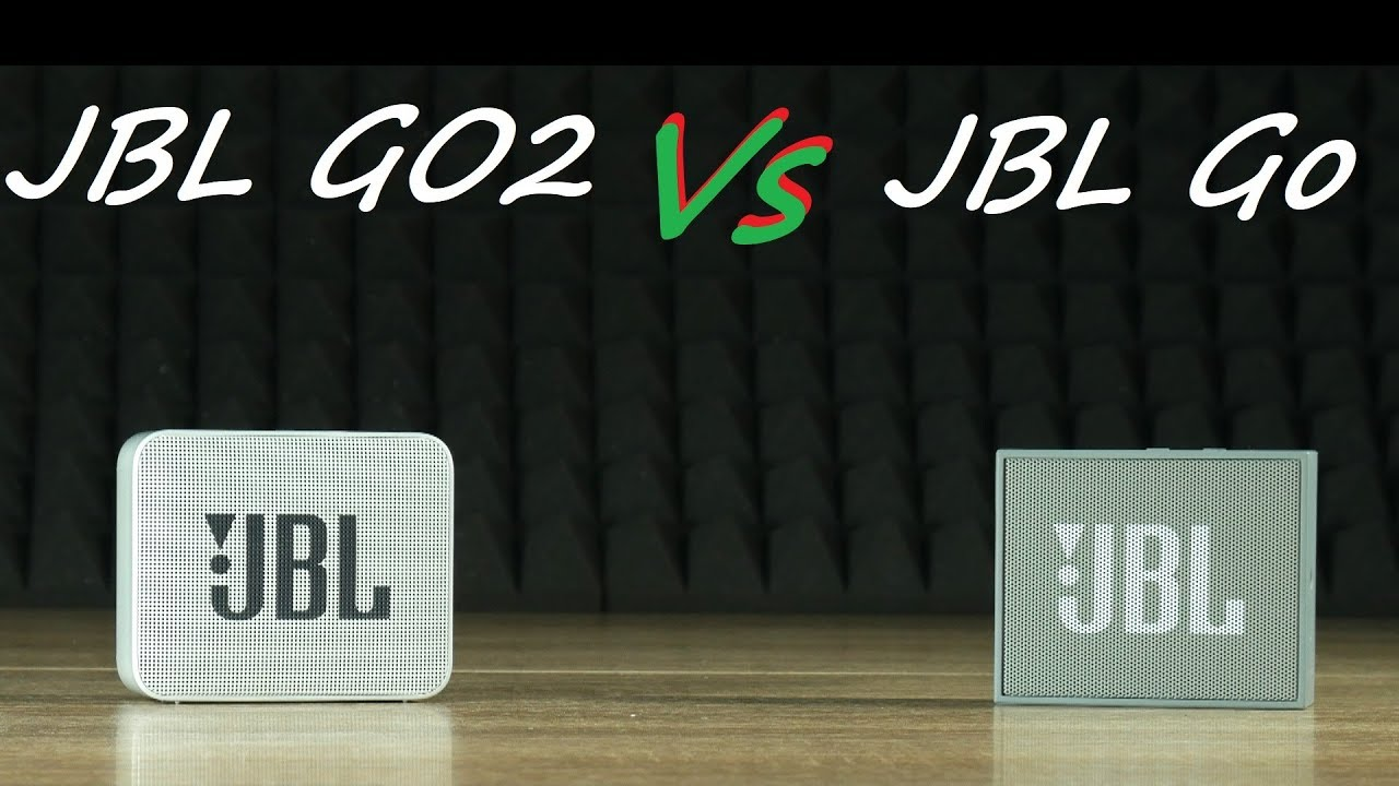 JBL Go vs JBL Go 2 bass sound test + Frequency response