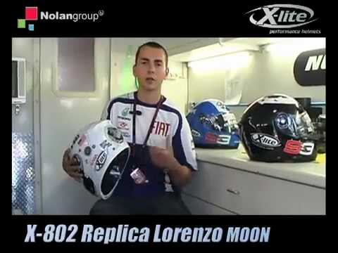 Jorge Lorenzo Presents Nolan_X-lite 802 Helmet
