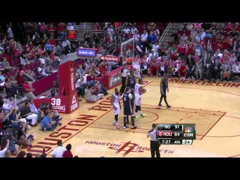 New Orleans Pelicans vs Houston Rockets   April 12, 2014   NBA 2013-14 Season