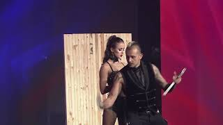 Knife-throwing duo Deadly Games from America's Got Talent
