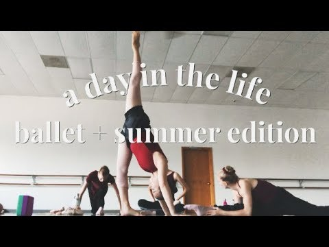Ballet Student Day In The Life//In-Studio Performance + Summer Edition | Audrey Ann