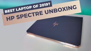 HP Spectre x360 (2019) - Unboxing and Review at a Glance