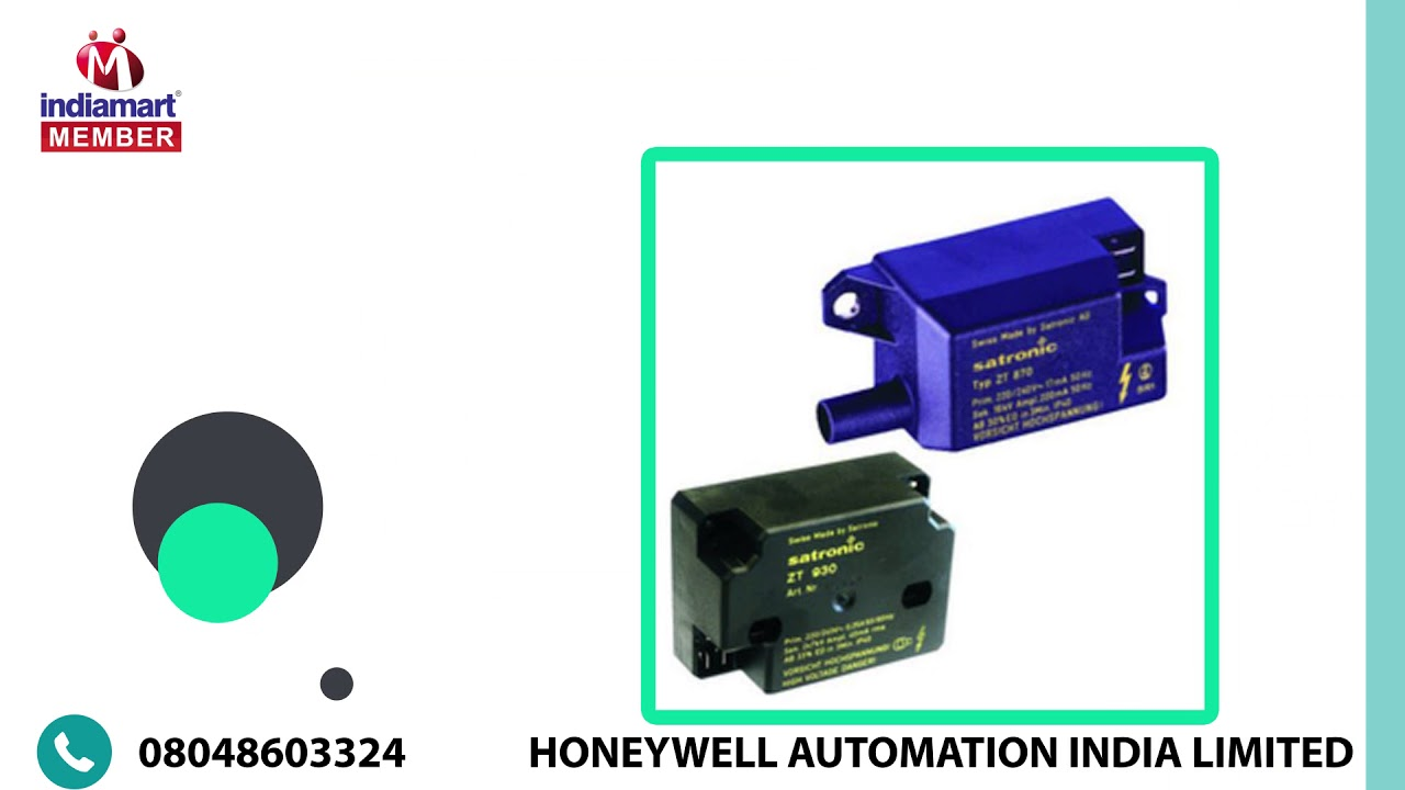 Control Components by Honeywell Automation India Limited, Pune