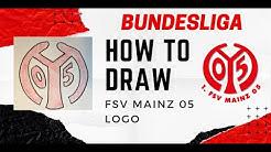How to Draw FSV Mainz 05 Logo - Bundesliga