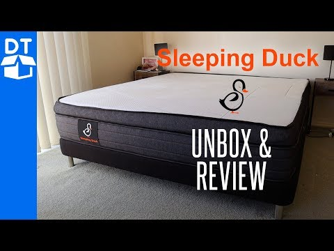Sleeping Duck Mattress & Bed Base Review & Unboxing (2019)